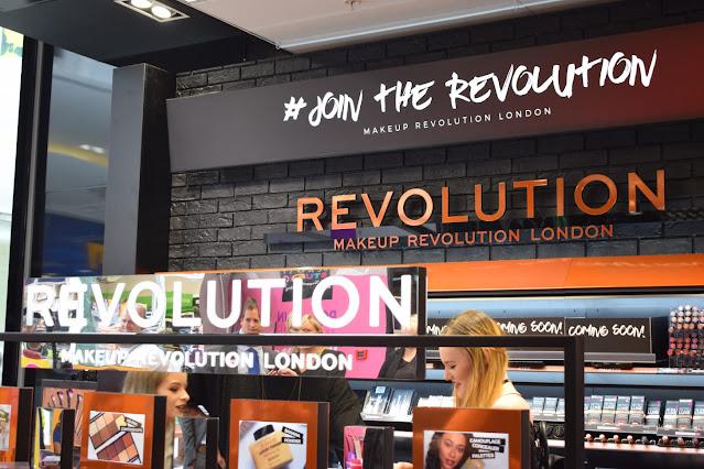 Make Up Revolution shop launch, Superdrug White Rose Leeds