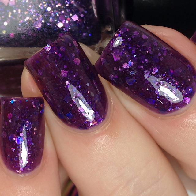 Night Owl Lacquer-Flying Purple People Eater