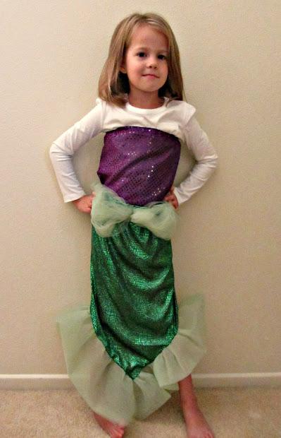 Chadwicks' Place Homemade Mermaid Costume