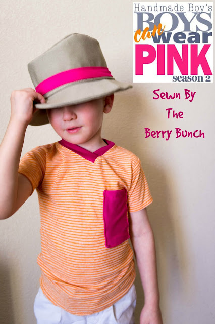 The Berry Bunch: Be Bold: Handmade Boy's Boys Can Wear Pink Season 2 {Blog Tour & Giveaway}