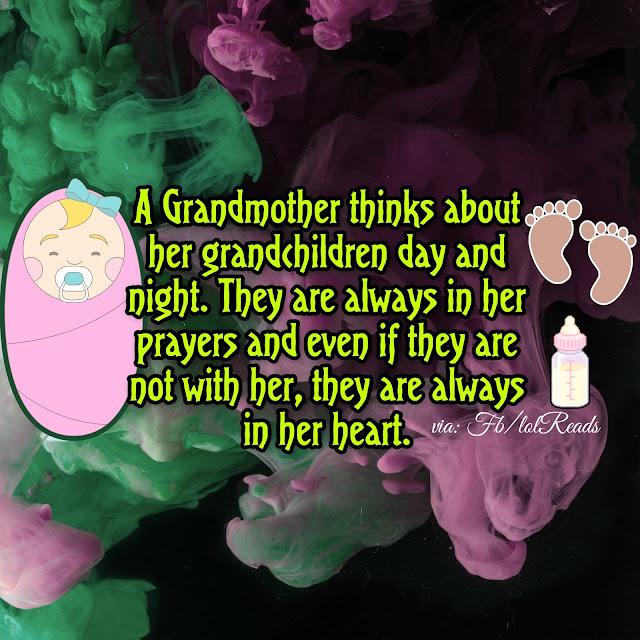 A Grandmothers Love for her Grandchildren