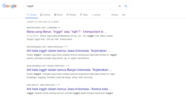 page one google