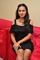 South Actress Amulya in short black dress at Kalamandir Foundation 7th anniversary Celebrations ~  Actress Galleries 052.JPG