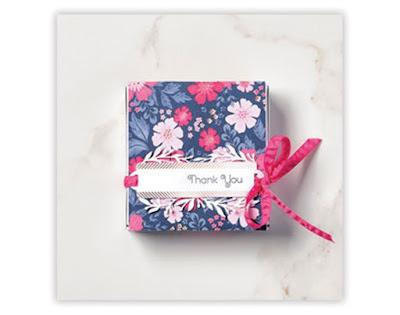 Pizzabox Stampin Up Produkt-Medlay Alles Wunderbare