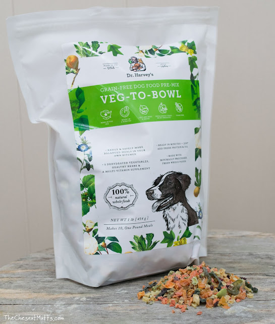 Dr. Harvey's veg to bowl dog food mix