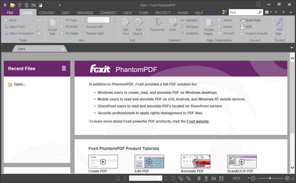 Foxit phantom download filehippo
