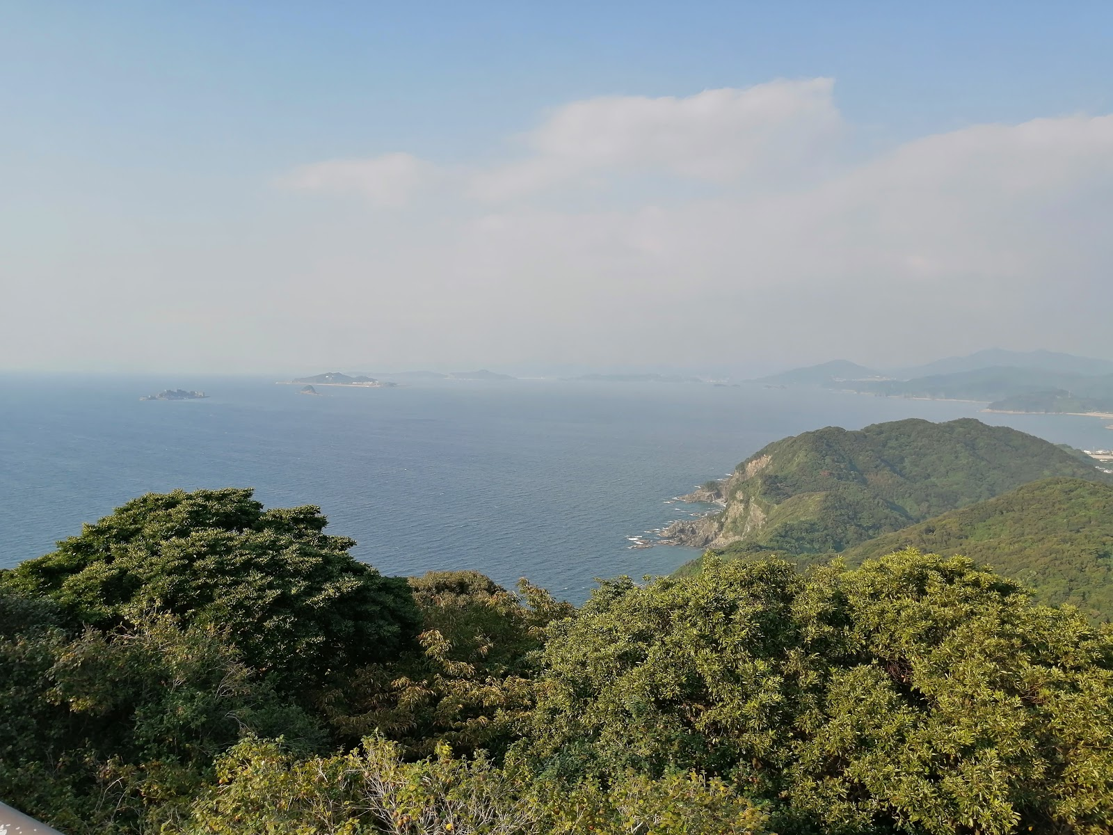 長崎絶景スポット 長崎市野母崎 権現山展望公園