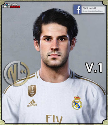 "PES 2020 Isco ""New Face"" by Nanilincol44"