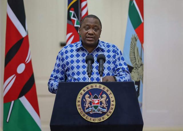 HE. President Uhuru Kenyatta