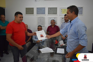 FCD de Guarabira recebe documento de doação de terreno para cede própria da instituição