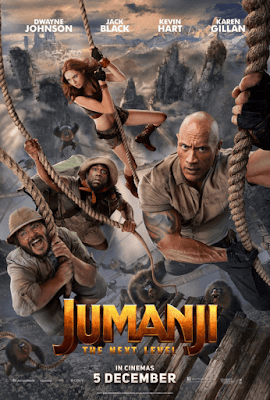 Jumanji The Next Level (2019) Dual Audio Hindi 720p HDCAM 850MB