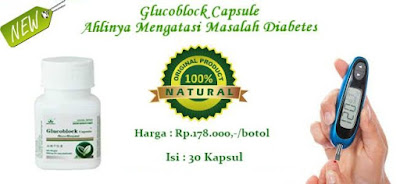 Obat Diabetes Melitus Herbal Glucoblock Capsule