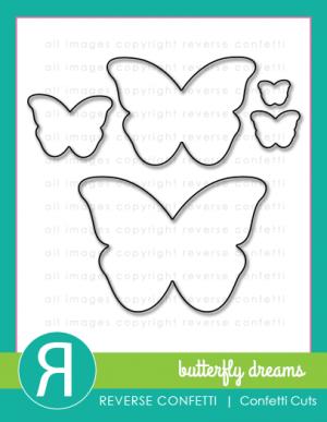 butterfly dreams confetti cuts