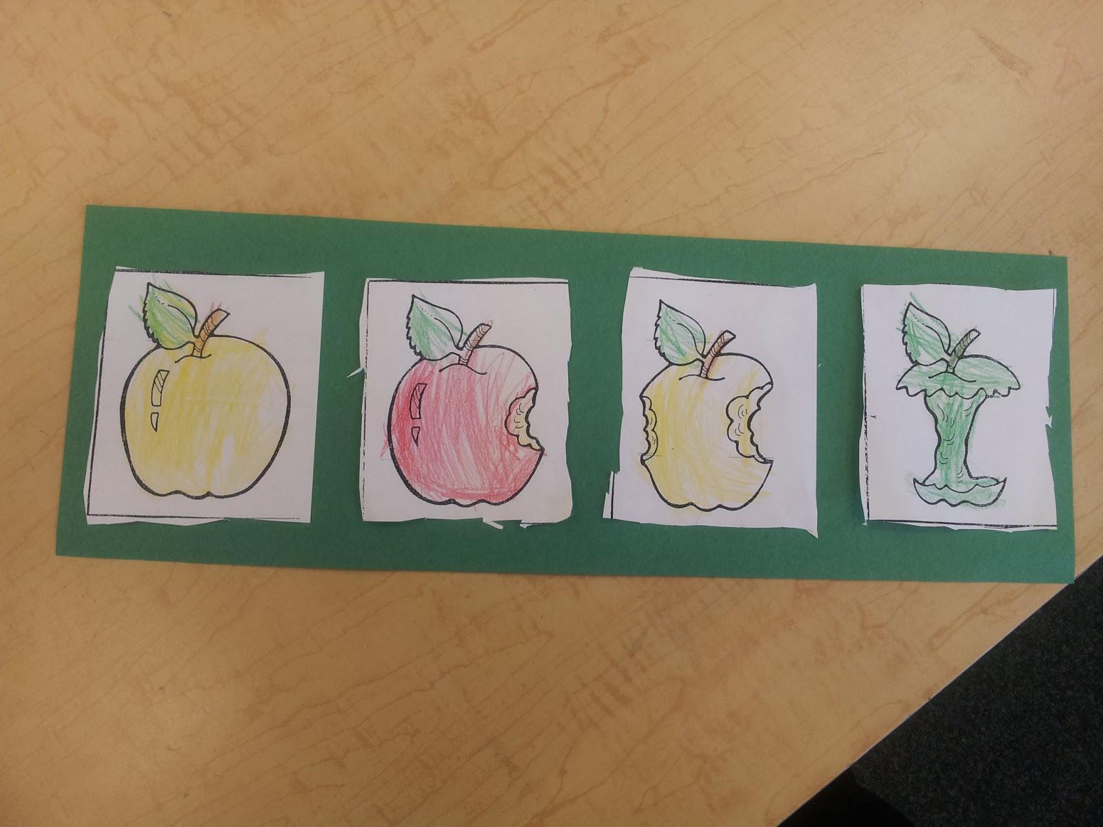 Colors And Kindergarten Apple Week