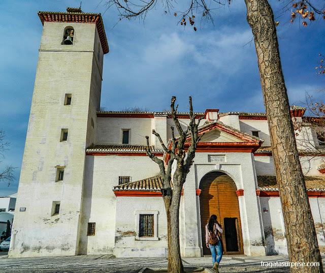 Igreja de San Nicolás, bairro do Albaicín, Granada