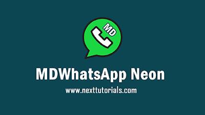 Download MDWhatsApp Neon v8.65 Apk Latest Version Android,Aplikasi MDWA Neon v8.65 Terbaru 2020,tema md wa neon keren 2020,wa mod anti banned