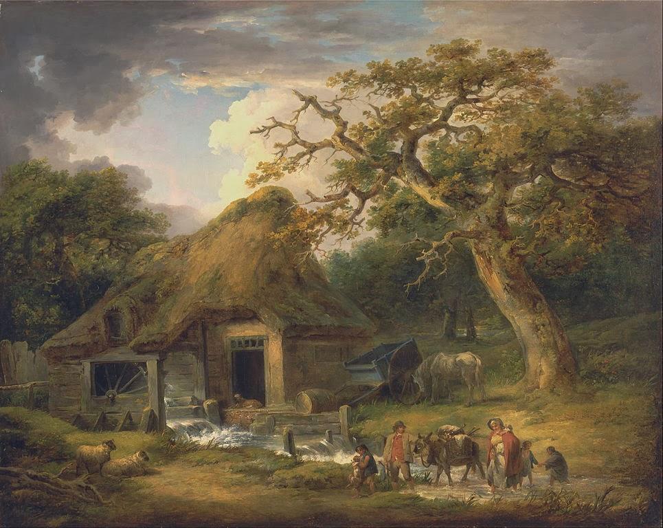 Wallpaper Fall Farmhouse Goats Galerii De Arta George Morland 26 Iunie 1763 29