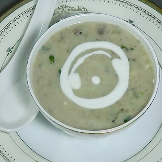 how to make mushroom soup at home step by step with pictures