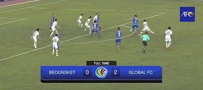 HIGHLIGHTS: Philippines' Global FC def. Boeung Ket Angkor FC, 2-0 (VIDEO) AFC Cup 2017