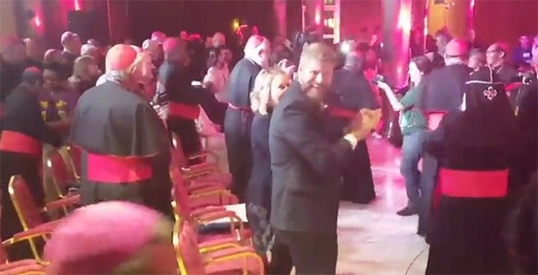 Image result for synod 2018 dance party