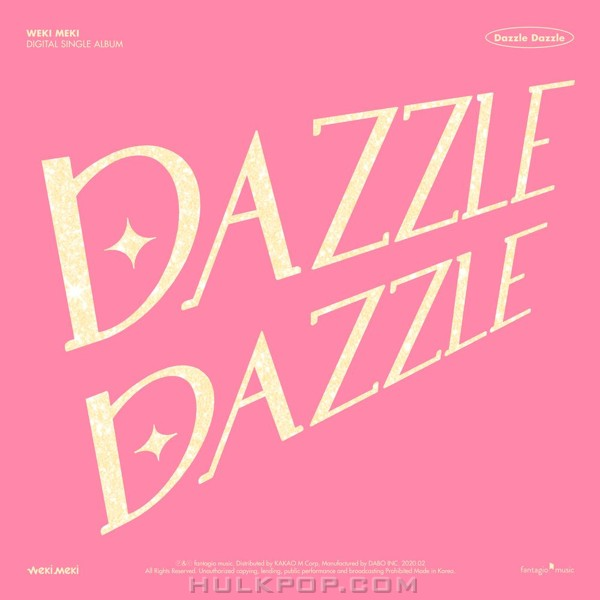 Weki Meki – DAZZLE DAZZLE – Single