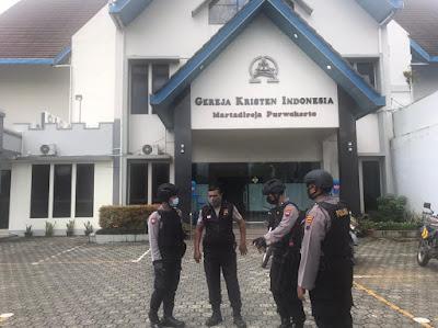Akibat Bom Meledak Wilayah Makassar Polresta Banyumas Gencarkan Patroli