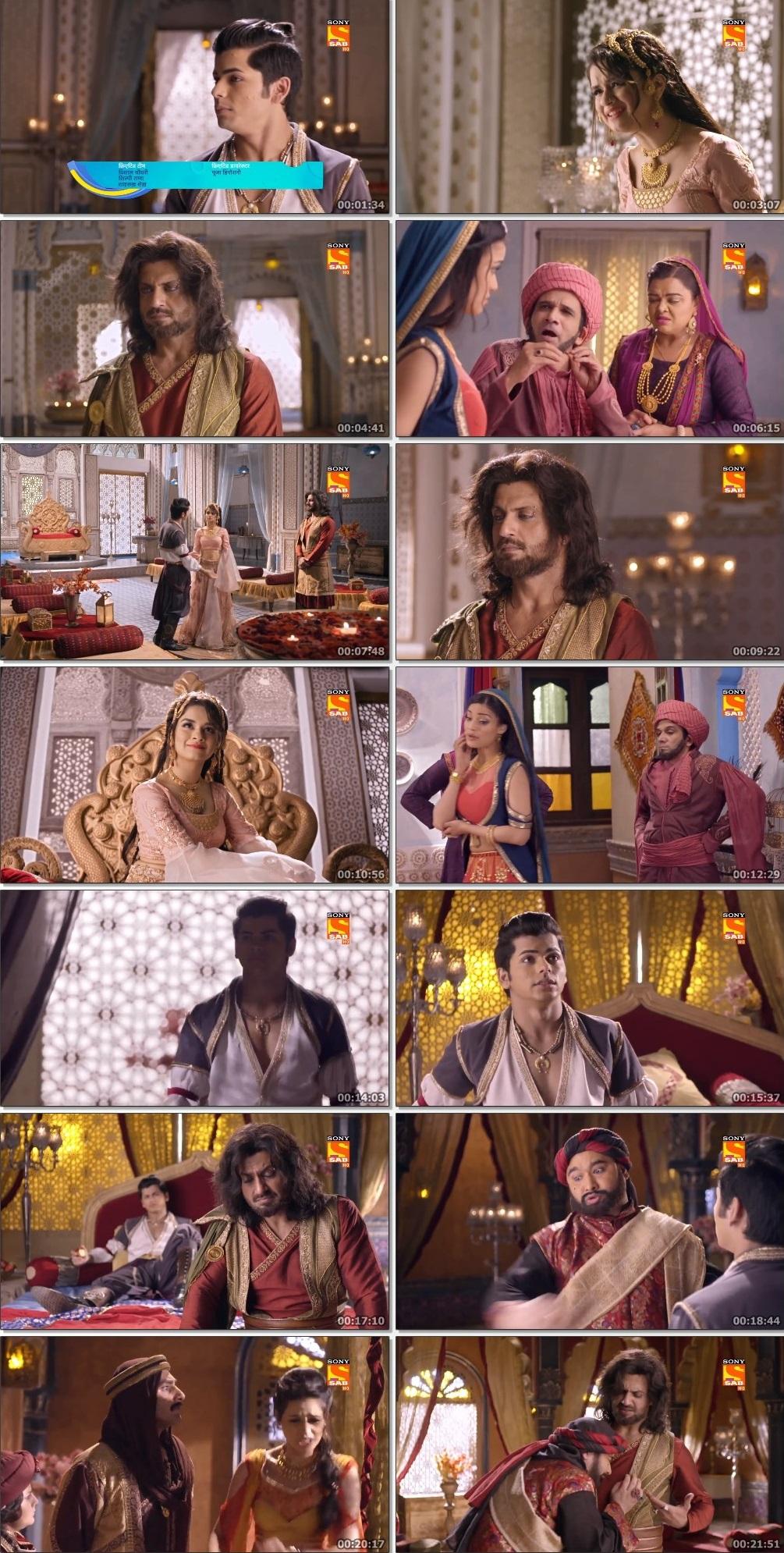 Screenshots Of Hindi Show Aladdin – Naam Toh Suna Hoga 2019 Episode 246 300MB 720P HD
