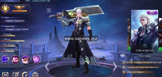 Script Skin Alucard Epic Full Efek Patch Terbaru Mobile Legends