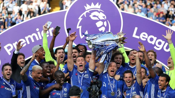 Chelsea are 2016-17 Premier League champions