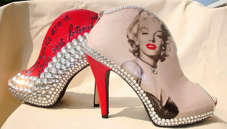 What Color Marilyn Monroe S Shoes