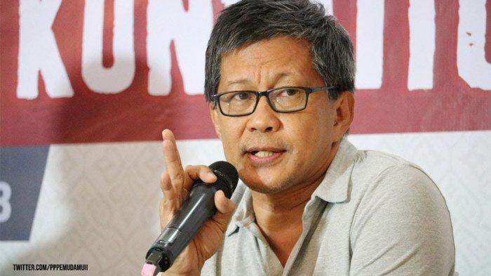 Minta Rektor UI Jangan Baper, Rocky Gerung: Gak Usah Ngimpi Ada Reshuffle, Gak Bakal Jadi Menteri Juga!