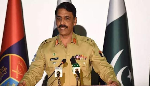 Determined Kashmiris will Succeed, DG ISPR Major General Asif Ghafoor