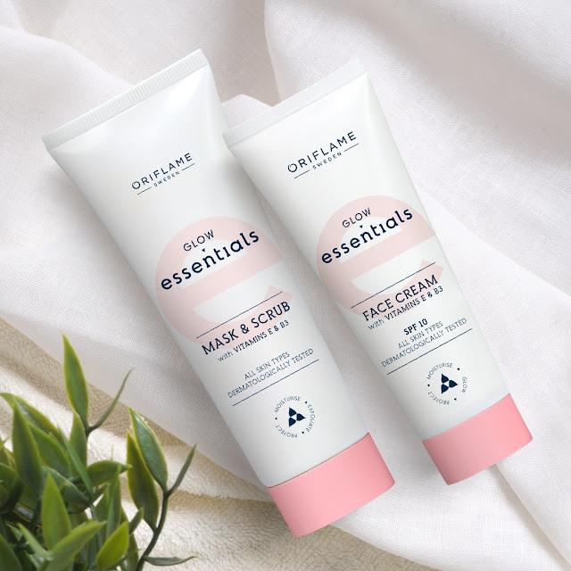 Mask & Scrub dan Face Cream yang membantu membuat kulit tampak glowing!