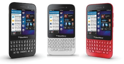BlackBerry Q5 Available Colors