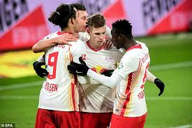 Leipzig prepare for Liverpool encounter with a 2-1 over Augsburg