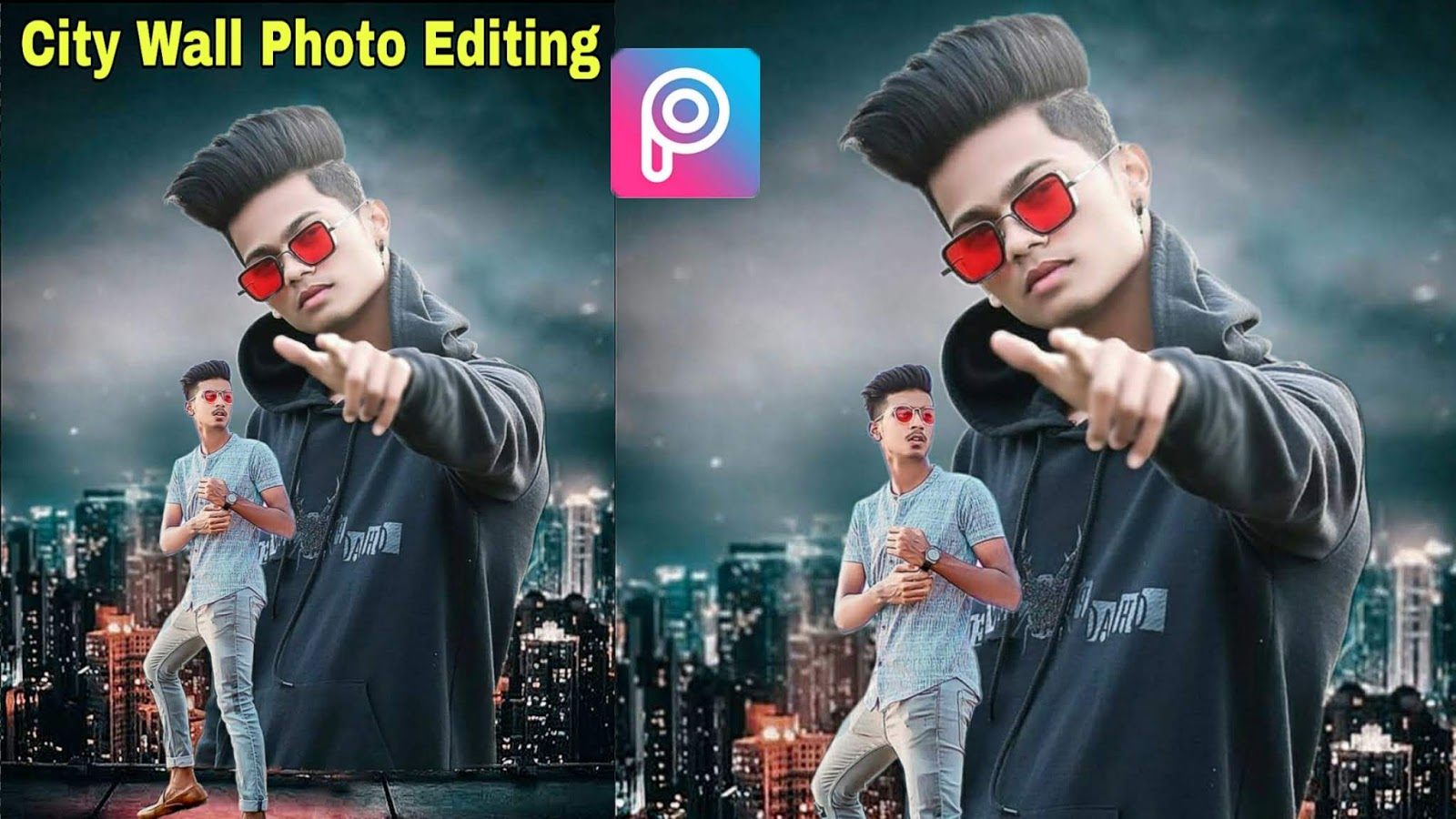 City Wall Creative Photo Editing in PicsArt | Hd Background & PNG Download
