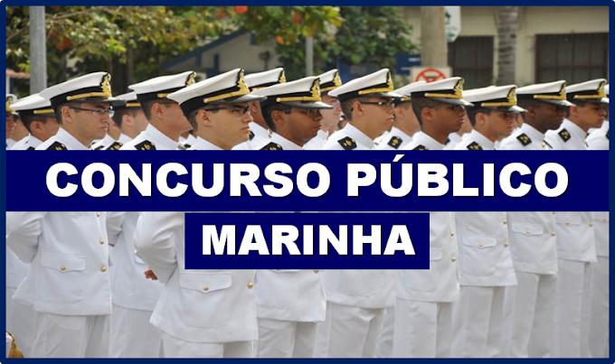Marinha do Brasil divulga novo Concurso Público com 750 vagas ( Nível Médio). Saiba Mais