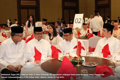 Ka Nasib, Buka Puasa Sajan Presiden Jokowi Pak Nova Duek Bak Meja 02