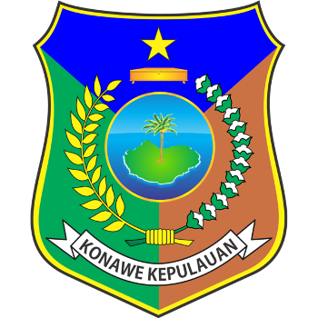 Logo Kabupaten Konawe Kepulauan PNG