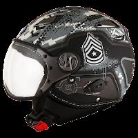 Helm KYT Elsico Seri 6 Grey Matt