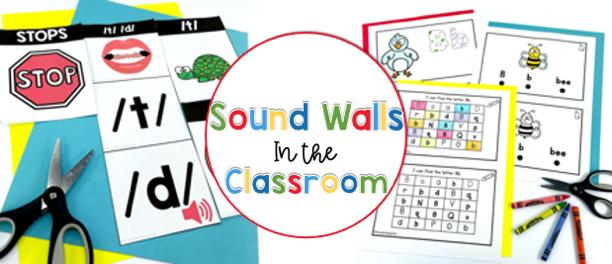 Sound Walks in kindergarten-Science of Reading