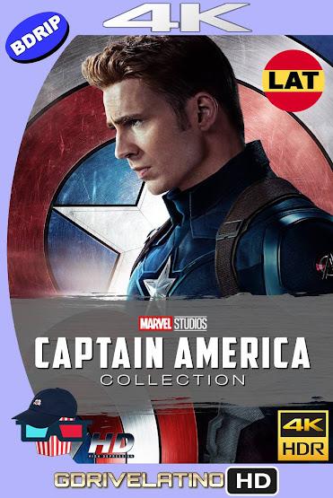 Capitán América Colección (2011-2016) BDRip 4K HDR Latino-Ingles MKV