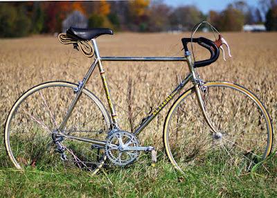 Classic Italian Road Bike With Full Campagnolo Super Record