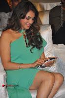 Actress Isha Koppikar Pos in Green Dress at Keshava Telugu Movie Audio Launch .COM 0014.jpg