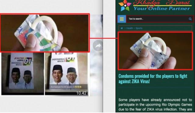 Kondom Bergambar Jokowi-Ma'ruf, TKN Tuding ada Pihak Sengaja Fitnah