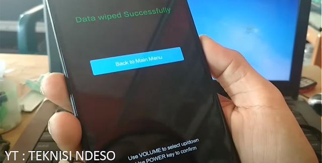 Cara Mengatasi HP Redmi Note 4 Black Screen Tombol Bereaksi tapi Layar Hitam