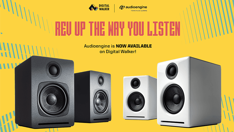Audioengine A1 desktop speakers now available via Digital Walker and Beyond the Box Philippines!