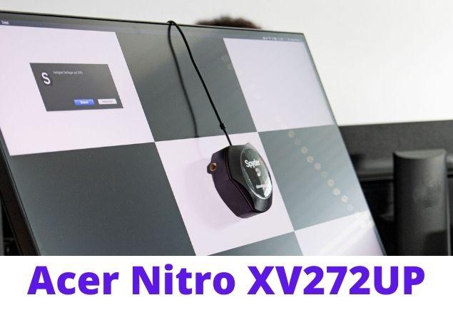 Acer Nitro XV272UP setup Design