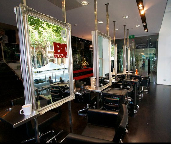 Save Water, Drink Champagne: The Blow Dry Bar