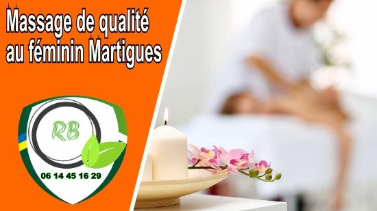 Massage de qualité au féminin Martigues;